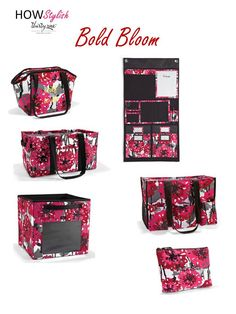 Bold Bloom - Spring 2015 Thirty-One.  Created by HOWStylish, independent consultant.