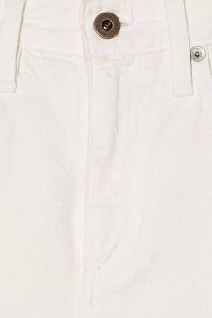 Simon Miller - W006 Latta High-rise Wide-leg Jeans - White - 27