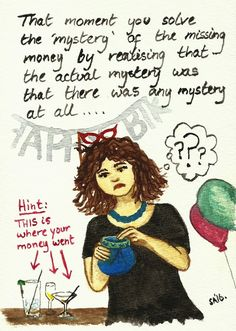 Random Thoughts of a Bored Artist: 2.0 Day 359 - The Mystery of the Missing Moolah!