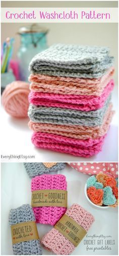 I have rounded up some of the best and interesting free #Crochet #Dishcloth patterns for your home.Easy Double Crochet Washcloth Pattern