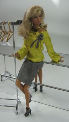 Global Flair for Fashion Royalty Dolls