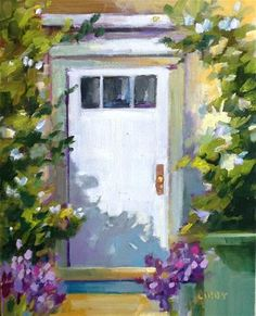 """Daily+Paintworks+-+""""Full+House""""+-+Original+Fine+Art+for+Sale+-+©+Libby+Anderson"""