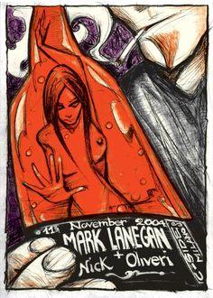 GigPosters.com - Mark Lanegan - Nick Oliveri   (2004 Milan, by Malleus)