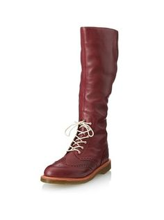 76% OFF Dr. Martens Women's Moya Boot (Cherry Red)