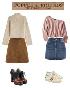 """coffee and friends..."" by anvini on Polyvore featuring art"