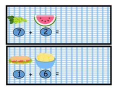 #FREE Ant Picnic: Addition #Math Center, Find the Sums, Comm