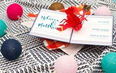 Lobster Nautical Theme Pop-Up Wow Wedding Invitation