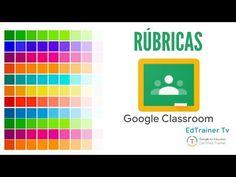 RÚBRICAS en Google Classroom - YouTube Teaching Chemistry, Teaching Plan, Teaching Resources, Design Social, Study Techniques, Virtual Class, Flipped Classroom, Educational Websites, Teacher Hacks