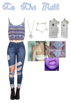 """""""Mall Time"""" by mn98-787 ❤ liked on Polyvore"""