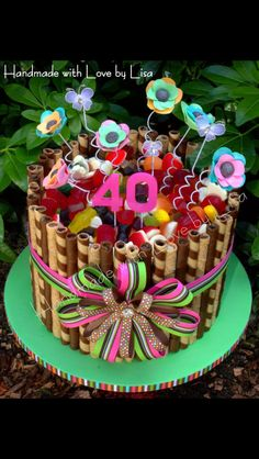 Cake Decorating Ideas With Lollies : 1000+ images about Lollie Cake Ideas on Pinterest Lolly ...
