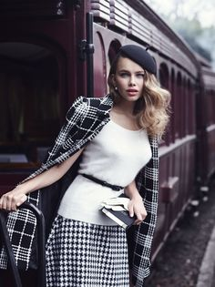 Vintage Love Affair new collection from Review. We <3 this classic monochrome look.