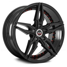 - Gloss Black with Red Accents. The wheel can be ordered in diameters. Choose your rim width, offset, bolt pattern and hub diameter from the option list. Wheel Warehouse, Wheels And Tires, Hot Wheels, Rims For Cars, Racing Wheel, Futuristic Design, Custom Wheels, Red Accents, Fuel Economy