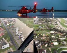 U.S. Coast Guard helicopter aircrews conduct Hurricane Ida post-storm overflights along the Gulf Coast. Aircrews conducted overflights near Galliano, LA to assess damage and identify hazards. Coast Guard Helicopter