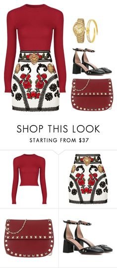 """Untitled #155"" by alibasicelma on Polyvore featuring Dolce&Gabbana, Valentino, RED Valentino and Michael Kors"