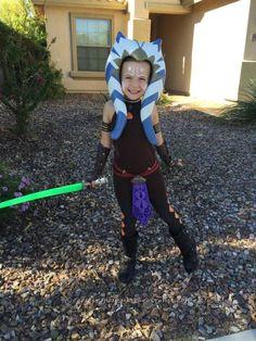 Cool Star Wars Clone Wars Ahsoka Tano Costume...