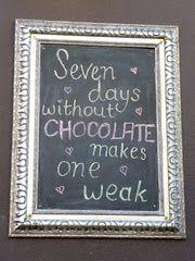 Fitzroy, Melbourne, sur la façade d'une chocolaterie