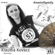 lovely @klokovacs ^^ with Meinl Shirt M37 #meinlshop #meinlcymbals #meinl