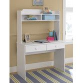Found it at Wayfair - My Space, My Place Writing Desk with Hutch