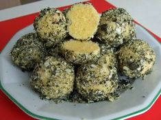 Styrian polenta dumplings - recipe - A side dish rolled in pumpkin seeds are Styrian polenta dumplings. If you love pumpkin seeds, this - Veggie Recipes, Appetizer Recipes, Easy Cooking, Cooking Recipes, My Favorite Food, Favorite Recipes, Austrian Recipes, Dumpling Recipe, Dumplings