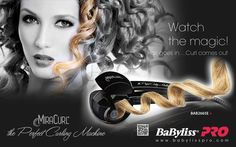 MIRACURL PERFECT CURLING MACHINE !! Perfect and long-lasting results. Infinite possibilities of styles created effortless and for a long time thanks to this hi-tech professional tool.