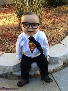 This little man is ready to save the world! What a cute idea for your little guy for Halloween!!