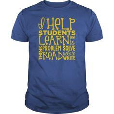 I Teach Students   Teachers Tshirts