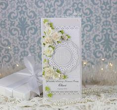 White communion card