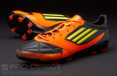 purchase cheap 31fe4 0eed5 adidas Football Boots - adidas F50 adizero TRX FG Leather - Firm Ground -  Soccer Cleats - Black-Electricity-Warning