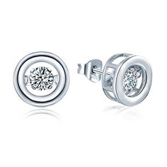YL Dancing Diamond Sterling Silver 4mm 0.49ct Round Stud ... http://www.amazon.com/dp/B01G24FUFW/ref=cm_sw_r_pi_dp_lyxtxb11A0AY2