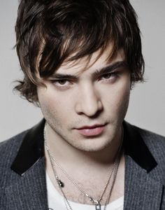 Ed Westwick- I started out hating him as Chuck Bass.... now im starting to love him. He's very attractive too!