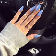 Image via We Heart It https://weheartit.com/entry/172730447/via/7369160 #luxury #nails #pale #purple #rings