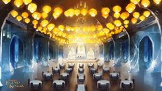 Avatar: Legend of Korra - Book 2 - Southern Water Tribe Palace Banquet Hall