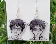 Funky Jewelry, Cute Jewelry, Jewelry Accessories, Anime Inspired Outfits, Anime Outfits, Anime Crafts, Shrinky Dinks, Anime Merchandise, Cute Earrings