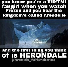 || The Mortal Instruments || Frozen< OMG YES I THOUGHT IT WAS HERONDALE AT FIRST UNTIL I LISTENED CLOSER