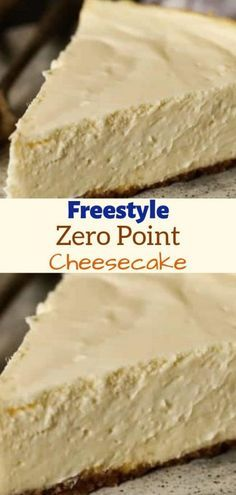 Weight Watchers Freestyle Zero Point Cheesecake - Recipes Chasing The Queen Weight Watcher Desserts, Weight Watchers Snacks, Weight Watchers Cheesecake, Plats Weight Watchers, Weight Watchers Meal Plans, Weigh Watchers, Weight Watcher Cookies, Weight Watchers Points, Ww Desserts