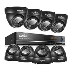 175.99$  Watch here - http://alis4x.shopchina.info/1/go.php?t=32628500330 - SANNCE 1080N AHD 8CH DVR 1.0MP 720P Outdoor CCTV Cameras Home Security System 175.99$ #bestbuy