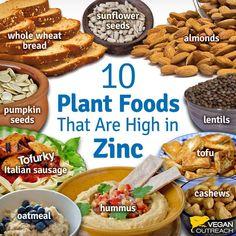Nutrition Tips for New Vegans - Vegan Outreach Plant Based Nutrition, Nutrition Tips, Health And Nutrition, Vegan Nutrition, Food For Strong Bones, Magnesium Foods, Zinc Rich Foods, Vegan Vitamins, Almond Bread