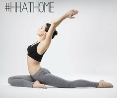 Do you like yoga? #hhathome #happyandhealthyathom Vinyasa Yoga, Bikram Yoga, Yoga Challenge, Yoga For Constipation, Chakra Yoga, Fitness Video, Yoga Fitness, Fitness Tips, Yoga Posen