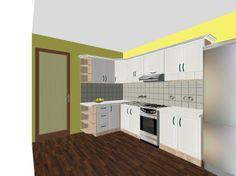 biela rustikalna kuchnska linka #kuchyna #nabytokbetak #nabytok #kuchynasnov #kuchynanamieru #3d #vizualizacia #interierovydizajn
