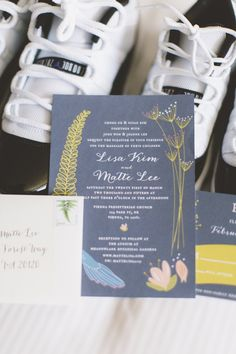 wedding invitation idea; photo: Sincereli Photography