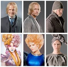Effie and Haymitch.