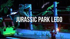 Lego Jurassic Park en stop-motion