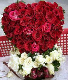Rose heart.......