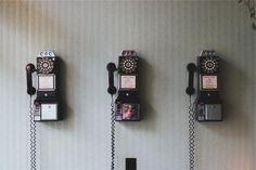 rotary, telephones, cords
