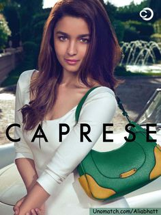 Bollywood newbie Alia Bhatt as the ambassador for its brand Caprese.