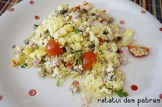 A melhor salada de couscous | ratatui dos pobres