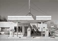 route 66 black and white photography