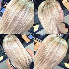 This is what I want so why is it so hard? Oh right cuz my stylist thinks I won't look good as a blonde even though I've been blonde and loved it before I had her do my hair. UGH!