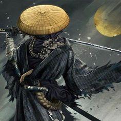 Dark Warrior, Shadow Warrior, Samurai Warrior, Fantasy Warrior, Warrior Girl, Arte Ninja, Ninja Art, Art Vampire, Vampire Knight