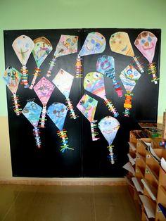Výsledek obrázku pro papírový drak tvoření Autumn Activities For Kids, Origami, Day Care, Autumn, Origami Paper, Origami Art